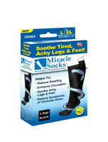 Miracle Socks Anti Fatigue Compression Socks, L-XL
