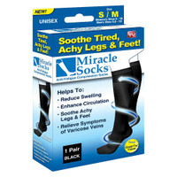 Miracle Socks Anti Fatigue Compression Socks, S-M