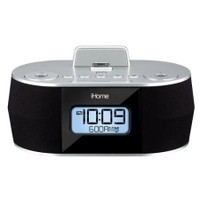 iHome iDN38 Clock Radio with Apple Dock Cradle