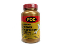 FDC Shark Cartilage 750MG, 100 tablets