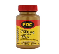 FDC Vitamin C 500 mg + Rose Hips