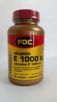 FDC Vitamin E 1000U DL-ALP, 100 tablets