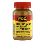 FDC 32 Senior Lutein and Lycopene, 130 tablets