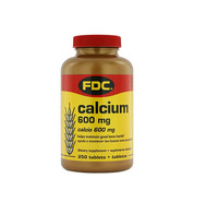 FDC Calcium 600MG, 250 Tablets