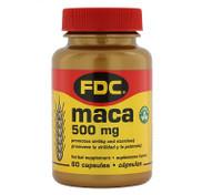FDC MACA 500 MG, 60 Capsules, 755244095229