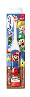 Arm and Hammer Kids Spinbrush, Super Mario  766878200668