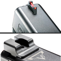 Taran Tactical - Ultimate Fiber Optic Sights Set for Glock