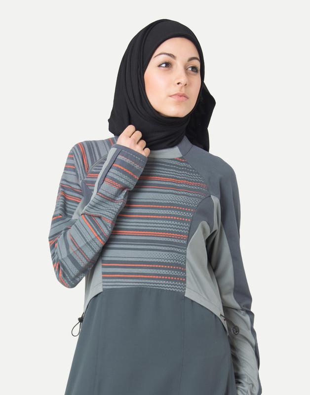 Still Striped Jilbab
