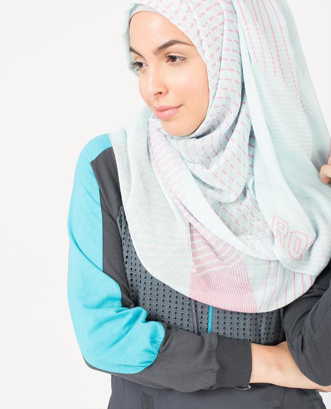 Aqua Bliss Hijab