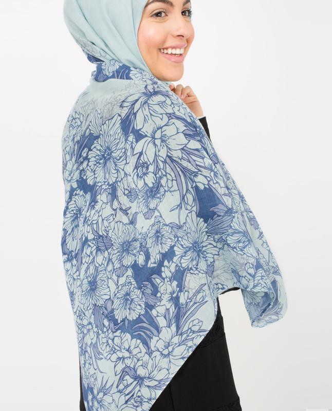 Citadel Blue Hijab