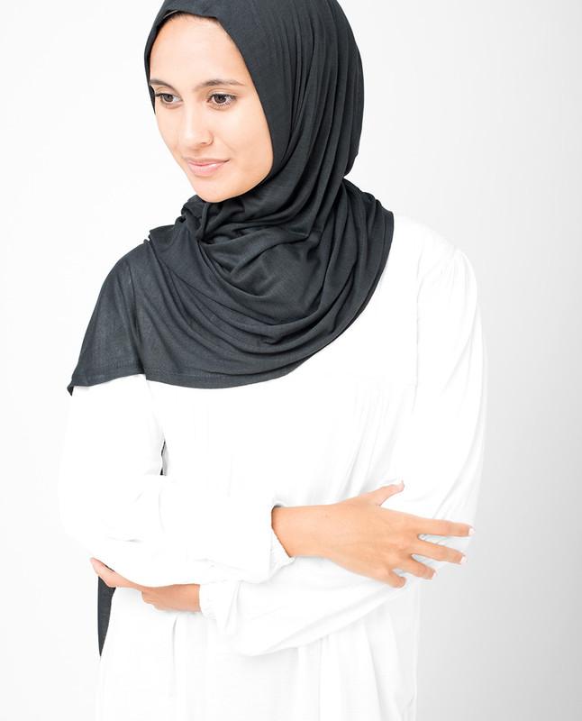 Dark Shadow Viscose Jersey Hijab
