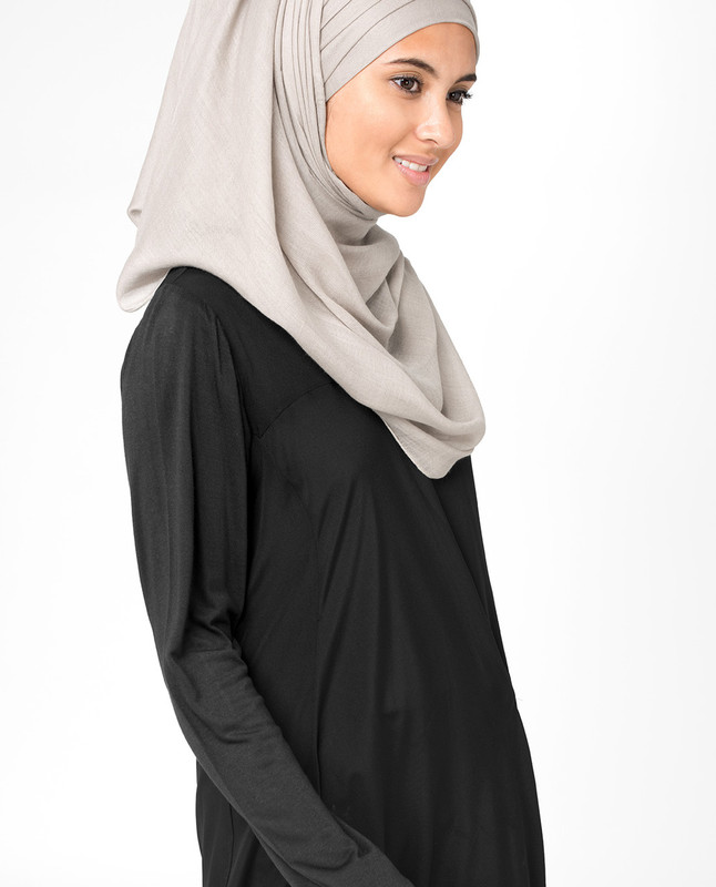 Silver Cloud Viscose Hijab