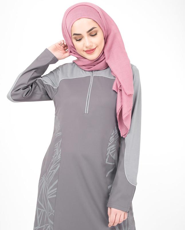 Abstract Print Jilbab, Abaya, Islamic Fashion Clothing