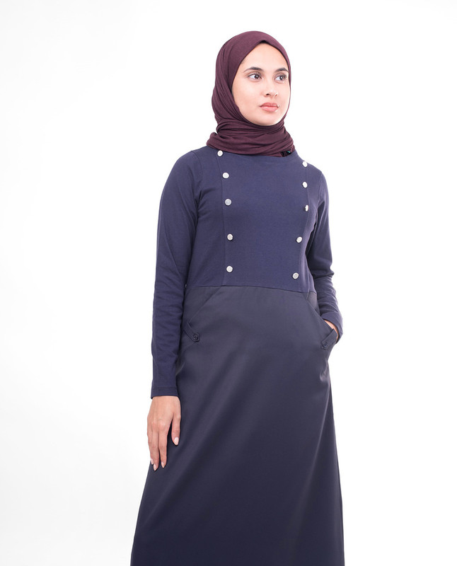 Navy Smart Sister Jilbab