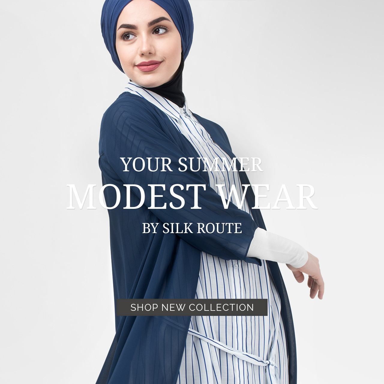 Modest Kimono & Shirt dress