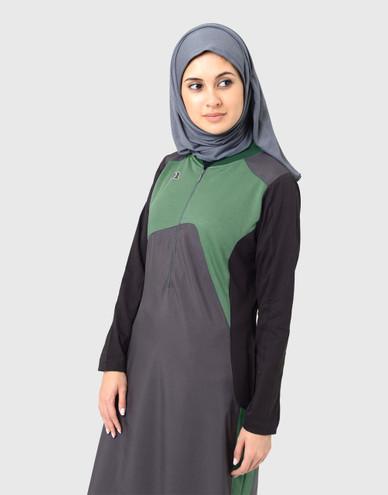 Cool in Contrast Jilbab