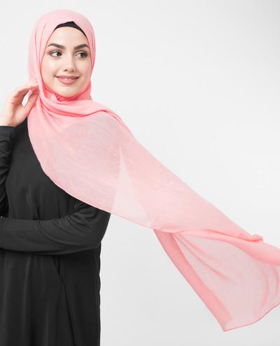 Peach Bud Viscose Hijab