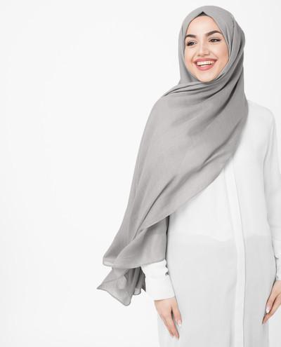 Chateau Gray Viscose Hijab