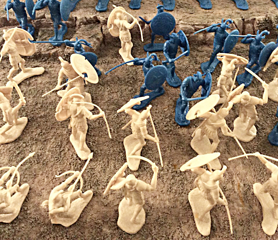 The War at Troy Diorama