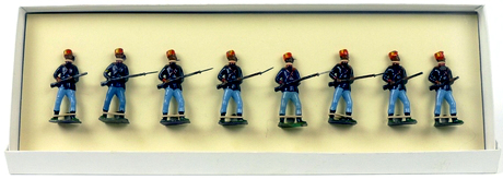 Britains Ltd. Toy Soldiers Turkish Infantry At The Ready