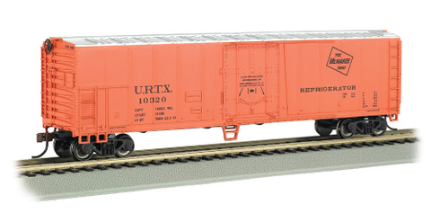 Bachmann Silver Series HO Scale Model Trains Milwaukee Road 50' Steel Sided Refrigerator Car