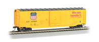 Bachmann Silver Series HO Scale Model Trains Union Pacific 50' Sliding Door Box Car