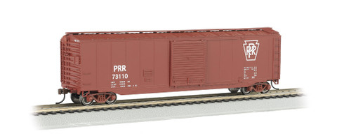 Bachmann Silver Series HO Scale Model Trains Pennsylvania 50' Sliding Door Box Car