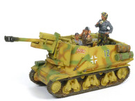 King & Country WS073 WWII German Army 10.5 Assault Gun With 3 Soldiers
