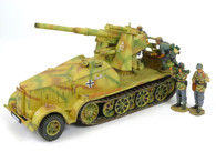 King & Country WS103 WWII German Army 88MM Flak Armored Half Track
