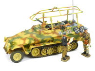 King & Country WS077 Panzer Meyer's Command Halftrack WWII German Army