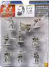 American Civil War Plastic Figures Confederate Infantry Set One in Gray
