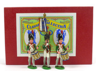 WA66 Company Flag and Drummers Napoleonic Wars