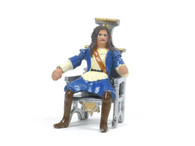 Hornung Art Historical Figure Charles II Seated On Throne