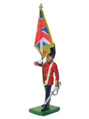 William Britain Scots Guard Colour Bearer Regimental Colour Toy Soldier
