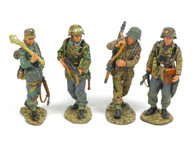 King & Country WS58 WWII New Fighting Patrol