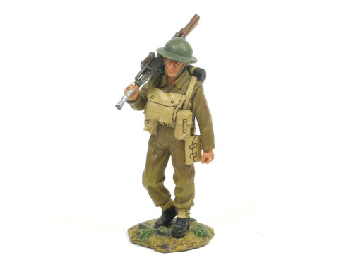 King & Country FOB006 WWII Bren Gunner Marching