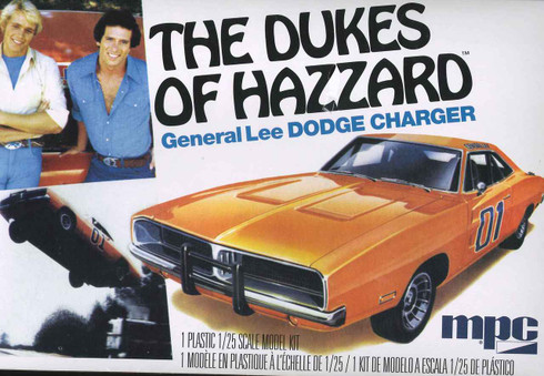 MPC 1969 General Lee Dodge Charger Model Kit 1/25 Scale