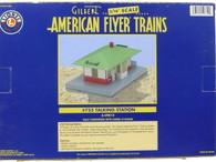 Lionel American Flyer Trains S Gauge Model Trains #755 Talking Station 6-49812