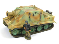 "New Model Army WWII SS7 German Desert ""Sturm"" Tiger Self Propelled Howitzer Tank"