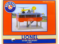 Lionel O Scale Model Trains #419R Heliport 6-14084