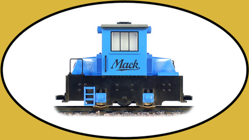 Mighty Mack Blue Engine