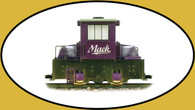 Hartland Locomotive Works Mighty Mack Engine in Purple