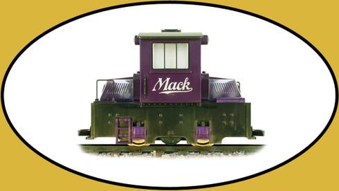 Hartland Locomotive Works Mighty Mack Engine in Purple