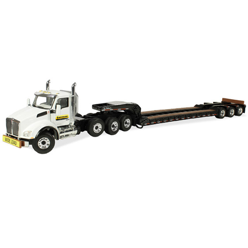 First Gear Diecast Collectible New Holland Construction Kenworth T880 1/50 Scale
