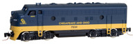 Micro-Trains Line Z Scale Chesapeake & Ohio F7 A Diesel Locomotive