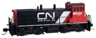 Micro-Trains Line N Scale Canadian National SW1500 Diesel Switcher Locomotive