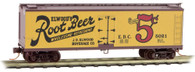Micro-Trains Line N Scale Elwood Rootbeer Reefer