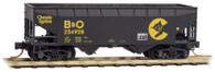 Micro-Trains Line N Scale B & O Chessie System Weathered Hopper