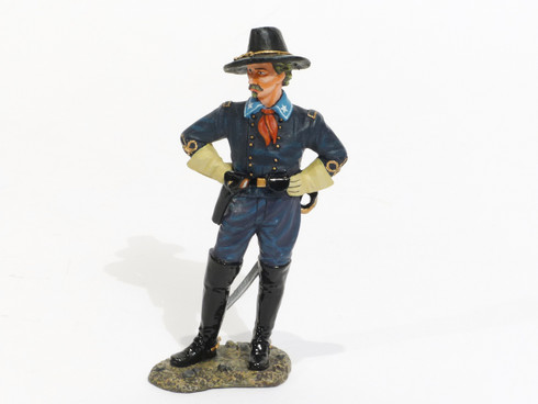 American Civil War Brig. General George A. Custer Collectible Soldier CW091