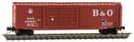 Micro-Trains Line Z Scale Baltimore & Ohio Box Car 289250